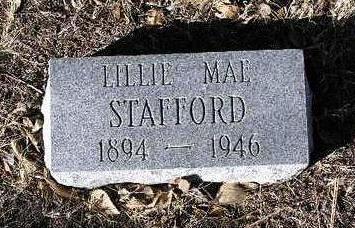 STAFFORD, LILLIE MAE - Yavapai County, Arizona | LILLIE MAE STAFFORD - Arizona Gravestone Photos