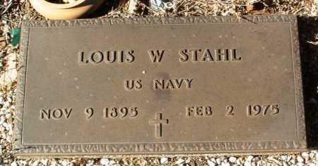 STAHL, LOUIS W. - Yavapai County, Arizona   LOUIS W. STAHL - Arizona Gravestone Photos