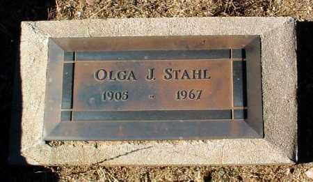 STAHL, OLGA J. - Yavapai County, Arizona | OLGA J. STAHL - Arizona Gravestone Photos