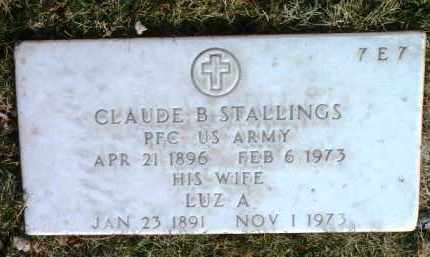 STALLINGS, LUZ A. - Yavapai County, Arizona | LUZ A. STALLINGS - Arizona Gravestone Photos