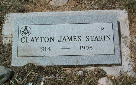 STARIN, CLAYTON JAMES - Yavapai County, Arizona | CLAYTON JAMES STARIN - Arizona Gravestone Photos