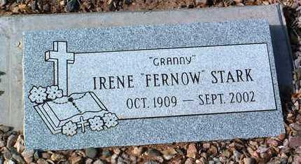 STARK, IRENE - Yavapai County, Arizona   IRENE STARK - Arizona Gravestone Photos