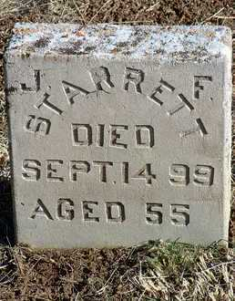 STARRETT, JOHN F. (JACK) - Yavapai County, Arizona   JOHN F. (JACK) STARRETT - Arizona Gravestone Photos
