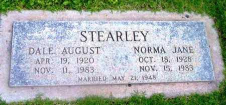 STEARLEY, NORMA JANE - Yavapai County, Arizona | NORMA JANE STEARLEY - Arizona Gravestone Photos