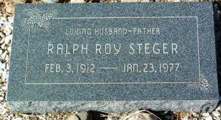 STEGER, RALPH ROY - Yavapai County, Arizona | RALPH ROY STEGER - Arizona Gravestone Photos