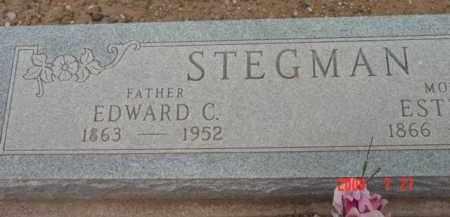 STEGMAN, EDWARD CONRAD - Yavapai County, Arizona | EDWARD CONRAD STEGMAN - Arizona Gravestone Photos