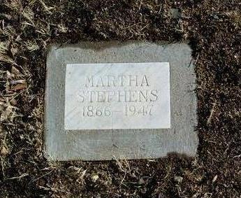 STEPHENS, MARTHA - Yavapai County, Arizona | MARTHA STEPHENS - Arizona Gravestone Photos