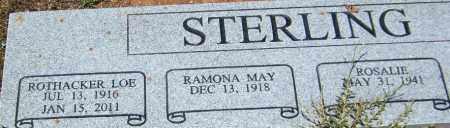 STERLING, ROTHACKER LOE - Yavapai County, Arizona | ROTHACKER LOE STERLING - Arizona Gravestone Photos