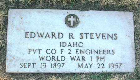 STEVENS, EDWARD R. - Yavapai County, Arizona | EDWARD R. STEVENS - Arizona Gravestone Photos