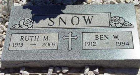 STEVENS SNOW, RUTH M. - Yavapai County, Arizona   RUTH M. STEVENS SNOW - Arizona Gravestone Photos