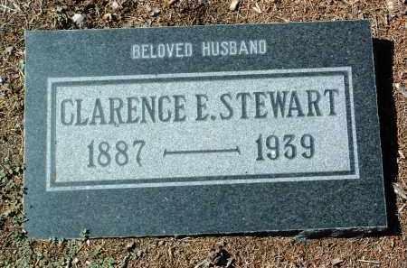 STEWART, CLARENCE EDGAR - Yavapai County, Arizona | CLARENCE EDGAR STEWART - Arizona Gravestone Photos