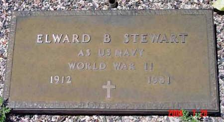 STEWART, ELWARD BENJAMIN - Yavapai County, Arizona | ELWARD BENJAMIN STEWART - Arizona Gravestone Photos
