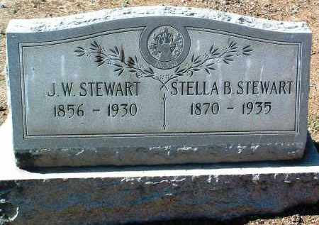 STEWART, ESTELLA BERTHA - Yavapai County, Arizona | ESTELLA BERTHA STEWART - Arizona Gravestone Photos