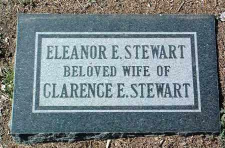 STEWART, ELEANOR E. - Yavapai County, Arizona | ELEANOR E. STEWART - Arizona Gravestone Photos