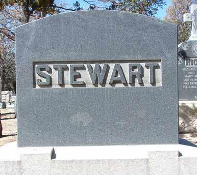 STEWART, HEADSTONE - Yavapai County, Arizona   HEADSTONE STEWART - Arizona Gravestone Photos