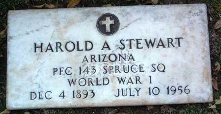 STEWART, HAROLD ARCHIBALD - Yavapai County, Arizona | HAROLD ARCHIBALD STEWART - Arizona Gravestone Photos