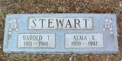 STEWART, ALMA K. - Yavapai County, Arizona | ALMA K. STEWART - Arizona Gravestone Photos