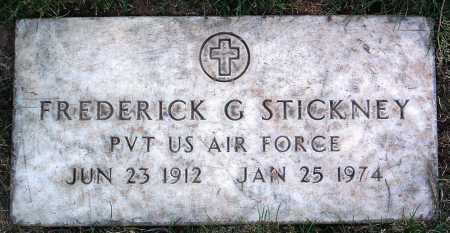 STICKNEY, FREDERICK G. - Yavapai County, Arizona | FREDERICK G. STICKNEY - Arizona Gravestone Photos