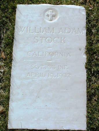 STOCK, WILLIAM  ADAM - Yavapai County, Arizona | WILLIAM  ADAM STOCK - Arizona Gravestone Photos