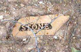 STONE, UNKNOWN - Yavapai County, Arizona | UNKNOWN STONE - Arizona Gravestone Photos