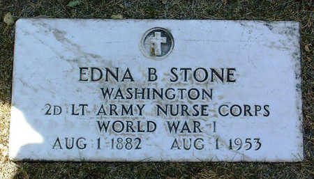 STONE, EDNA  B. - Yavapai County, Arizona | EDNA  B. STONE - Arizona Gravestone Photos