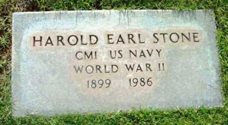 STONE, HAROLD EARL - Yavapai County, Arizona | HAROLD EARL STONE - Arizona Gravestone Photos