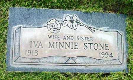 STONE, IVA MINNIE - Yavapai County, Arizona | IVA MINNIE STONE - Arizona Gravestone Photos
