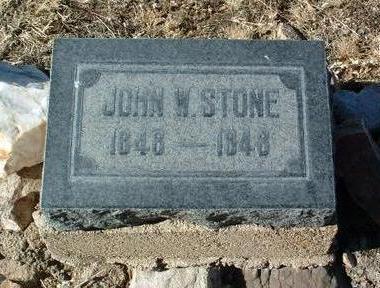 STONE, JOHN WELLINGTON - Yavapai County, Arizona   JOHN WELLINGTON STONE - Arizona Gravestone Photos