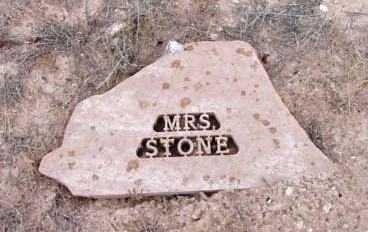 STONE, MRS. - Yavapai County, Arizona | MRS. STONE - Arizona Gravestone Photos