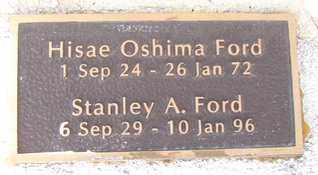FORD, STANLEY A. - Yavapai County, Arizona | STANLEY A. FORD - Arizona Gravestone Photos