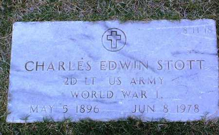 STOTT, CHARLES EDWIN, SR. - Yavapai County, Arizona | CHARLES EDWIN, SR. STOTT - Arizona Gravestone Photos
