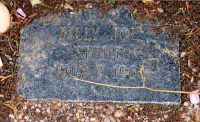 STOUT, BILLY JOE - Yavapai County, Arizona | BILLY JOE STOUT - Arizona Gravestone Photos