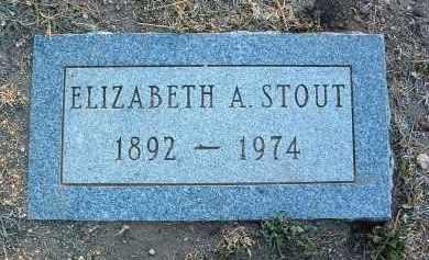 STOUT, ELIZABETH ADELA - Yavapai County, Arizona | ELIZABETH ADELA STOUT - Arizona Gravestone Photos