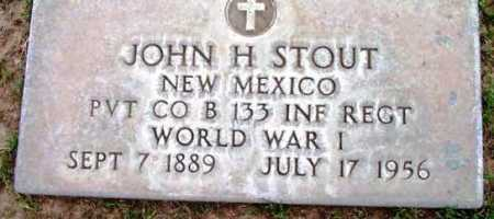 STOUT, JOHN HENRY - Yavapai County, Arizona | JOHN HENRY STOUT - Arizona Gravestone Photos