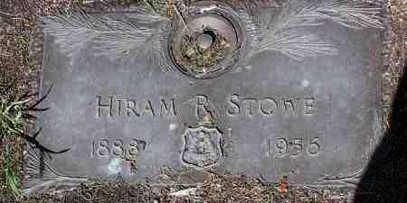 STOWE, HIRAM REUBEN - Yavapai County, Arizona | HIRAM REUBEN STOWE - Arizona Gravestone Photos