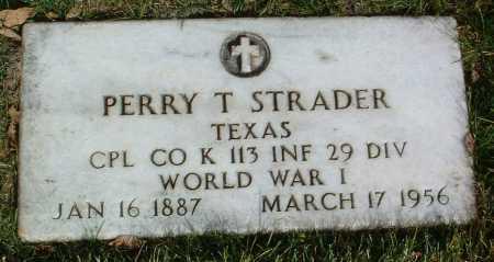STRADER, PERRY THOMAS - Yavapai County, Arizona   PERRY THOMAS STRADER - Arizona Gravestone Photos