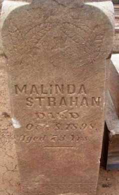 SLAGLE STRAHAN, MALINDA - Yavapai County, Arizona | MALINDA SLAGLE STRAHAN - Arizona Gravestone Photos