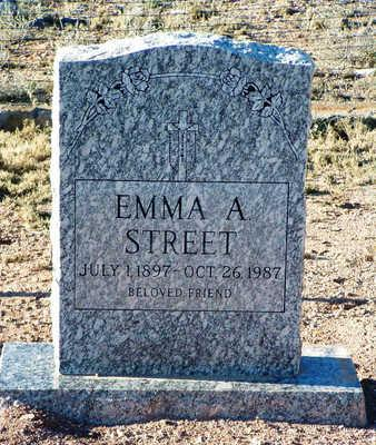 STREET, EMMA A. - Yavapai County, Arizona | EMMA A. STREET - Arizona Gravestone Photos