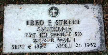 STREET, FRED F. - Yavapai County, Arizona | FRED F. STREET - Arizona Gravestone Photos