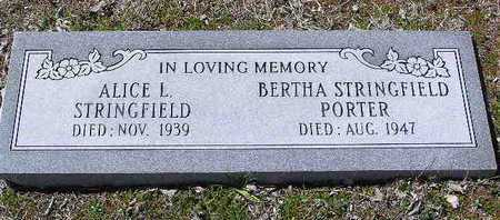 STRINGFIELD PORTER, B. - Yavapai County, Arizona | B. STRINGFIELD PORTER - Arizona Gravestone Photos