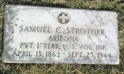 STROTHER, SAMUEL C. - Yavapai County, Arizona | SAMUEL C. STROTHER - Arizona Gravestone Photos