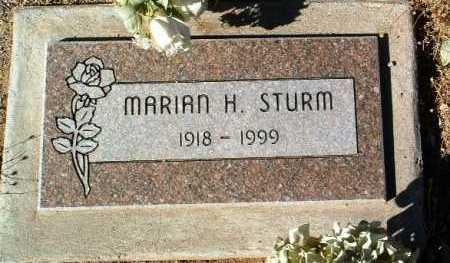 STURM, MARIAN H. - Yavapai County, Arizona | MARIAN H. STURM - Arizona Gravestone Photos