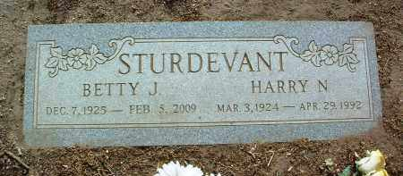 HENDERSON STURDEVANT, BETTY JANE - Yavapai County, Arizona | BETTY JANE HENDERSON STURDEVANT - Arizona Gravestone Photos
