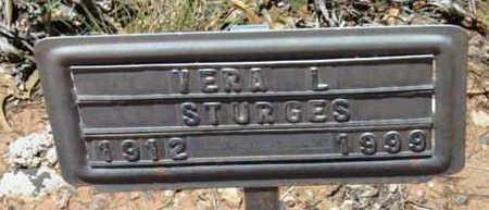 STURGES, VERA L. - Yavapai County, Arizona | VERA L. STURGES - Arizona Gravestone Photos