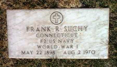 SUCHY, FRANK ROBERT - Yavapai County, Arizona | FRANK ROBERT SUCHY - Arizona Gravestone Photos