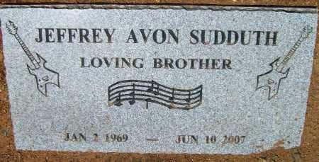 SUDDUTH, JEFFREY AVON - Yavapai County, Arizona | JEFFREY AVON SUDDUTH - Arizona Gravestone Photos