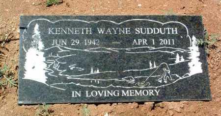 SUDDUTH, KENNETH WAYNE - Yavapai County, Arizona | KENNETH WAYNE SUDDUTH - Arizona Gravestone Photos