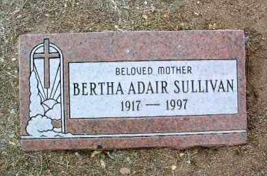 SULLIVAN, BERTHA A. - Yavapai County, Arizona | BERTHA A. SULLIVAN - Arizona Gravestone Photos