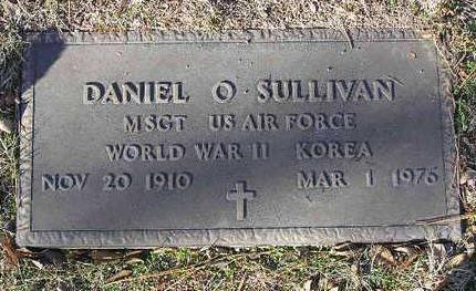 SULLIVAN, DANIEL O. - Yavapai County, Arizona | DANIEL O. SULLIVAN - Arizona Gravestone Photos