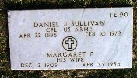 SULLIVAN, MARGARET F. - Yavapai County, Arizona | MARGARET F. SULLIVAN - Arizona Gravestone Photos